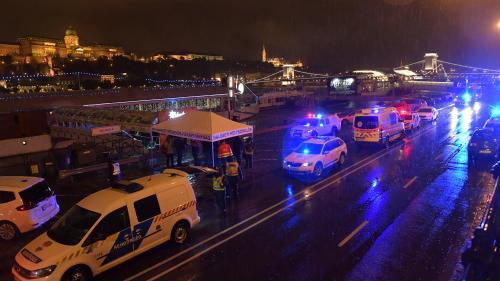 Hongrie : le naufrage d'un bateau touristique fait au moins sept morts et 19 disparus à Budapest