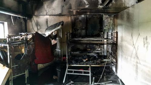 Bosnie : au moins 32 migrants blessés dans l'incendie d'un centre d'accueil