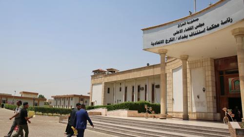 A Bagdad, les deux jihadistes français condamnés à mort n'ont eu que quelques minutes pour s'expliquer