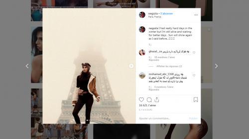 Menacée d'être emprisonnée en Iran et réfugiée à Paris, la mannequin Neggzia aura droit à l'asile en France