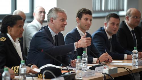 En visite à Belfort, Bruno Le Maire demande à General Electric d'améliorer son plan social