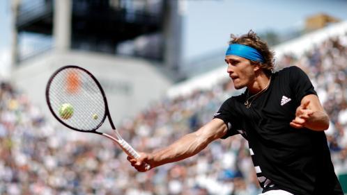 DIRECT. Roland-Garros/8es de finale : Alexander Zverev domine le fougueux Fabio Fognini