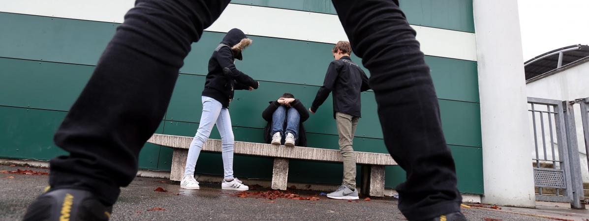 Le harcèlement scolaire touche un enfant sur dix en France.