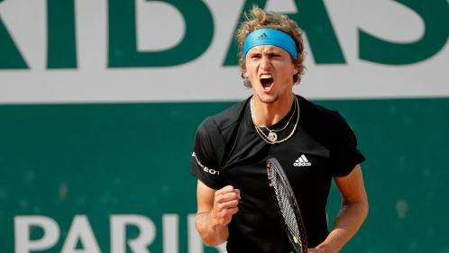 Roland-Garros : Alexander Zverev dompte Fabio Fognini et retrouve les quarts