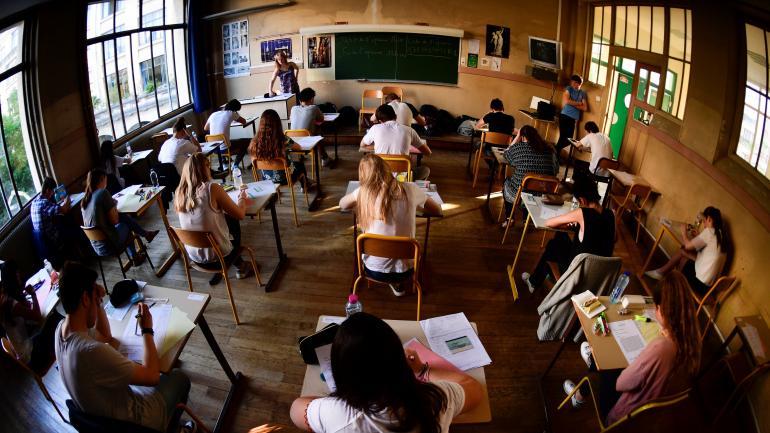 Classe de terminale dans un lycée parisien.