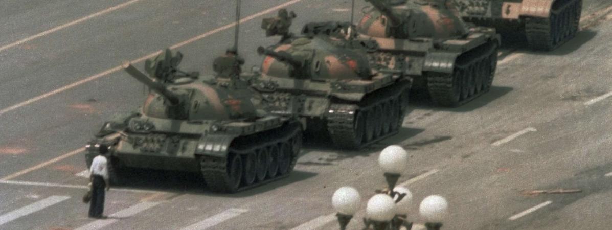 Trente ans après la répression de Tiananmen, comment la photo de ...