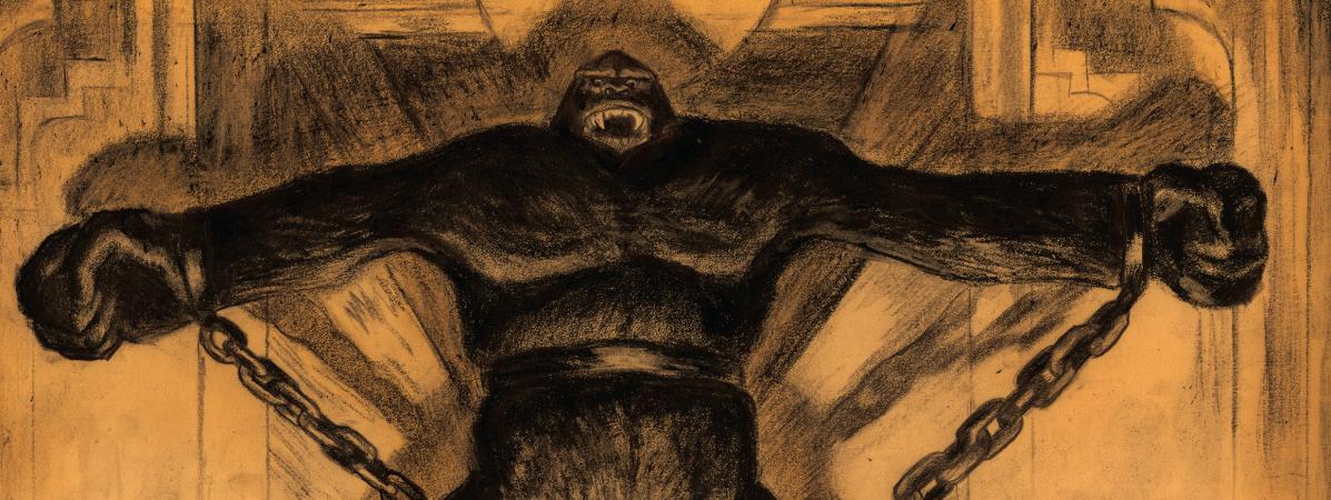 """Pages intérieures, \""""King Kong\"""""""