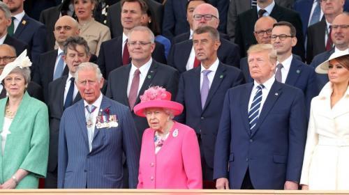 DIRECT. D-Day : la reine Elizabeth, Trump, Macron et 300 vétérans (entre autres) réunis à Portsmouth pour célébrer le 75e anniversaire du Débarquement