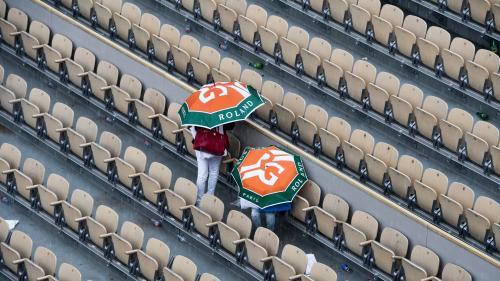 DIRECT. Roland-Garros : regardez les quarts de finale de Novak Djokovic, Simona Halep et Dominic Thiem (mais pour l'instant, il pleut)