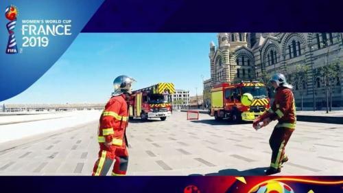 VIDEO. Coupe du monde féminine : les marins-pompiers de Marseille font un clip pour soutenir l'équipe de France