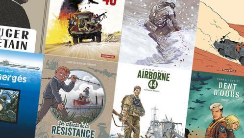 Commémorations du 6 juin 1944 : dix BD qui valent le débarquement chez votre libraire