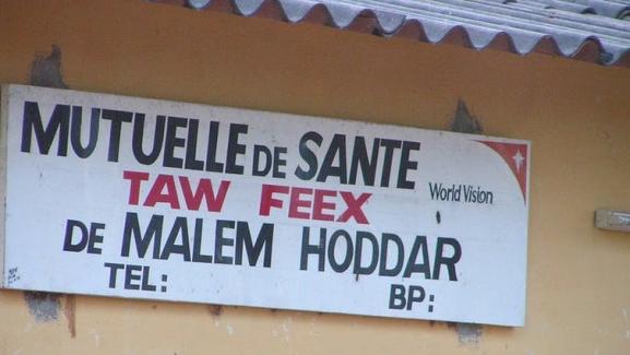 Mutuelle de Sante au Sénégal: la mutuelle pionnière est celle de Fandène dans la région de Thiès.
