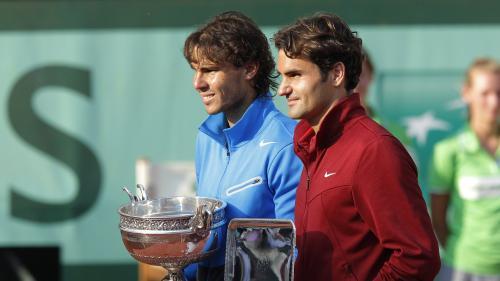 """""""Ce sont deux monstres, du tennis et du sport en général"""": à Roland-Garros, le choc d'une génération entre Nadal et Federer"""