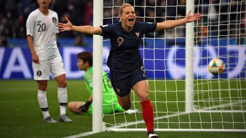 DIRECT. Coupe du monde féminine de football : la France creuse l'écart face à la Corée du Sud (2-0)