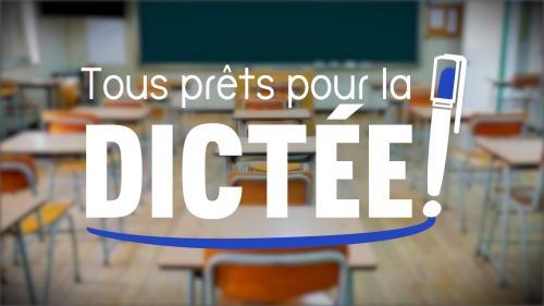 """DIRECT. """"Tous prêts pour la dictée !"""" : regardez et participez à l'exercice de France 3"""