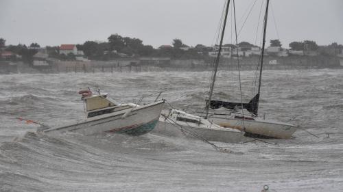 La tempête Miguel fait des dégâts dans toute la France