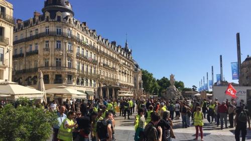 """Des """"gilets jaunes"""" de toute la France attendus à Montpellier pour la 30e journée de mobilisation"""