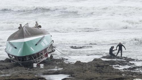 """Naufrage d'un bateau de la SNSM : """"Ce n'était pas un casse-cou"""", témoigne l'épouse du pêcheur disparu"""