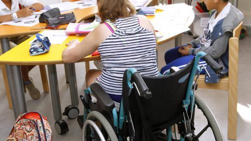 """Scolarisation des enfants handicapés : l'APF-France handicap salue une """"vraie volonté politique"""" du gouvernement"""