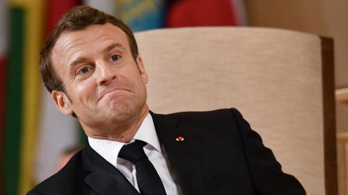 """Emmanuel Macron dénonce les dérives d'un """"capitalisme fou"""""""