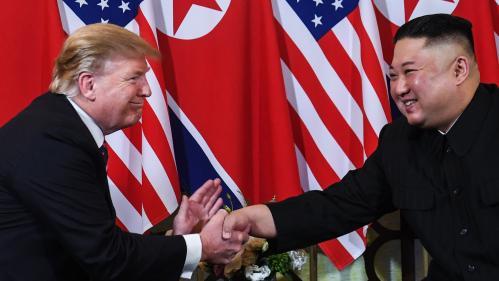 """Donald Trump dit avoir reçu une """"lettre magnifique"""" de Kim Jong-un"""