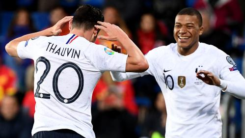 Qualifications pour l'Euro 2020 : les Bleus se rassurent en écrasant Andorre (4-0)