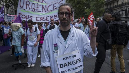 DIRECT. Hôpitaux : nouvelle journée de grève sur fond de crise aux urgences