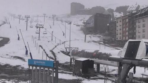 Foot : Andorre sous la neige, à quelques heures du match des Bleus
