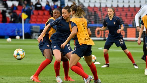 Football : Nice se prépare pour le second match des Bleues