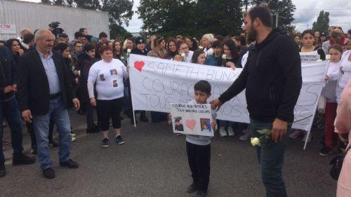 Lorient : la marche blanche en hommage au petit garçon tué par un chauffard réunit près de 2000personnes