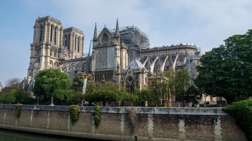 """""""Le chantier de sécurisation a vocation à durer encore longtemps"""" : le point sur les travaux deux mois après l'incendie de Notre-Dame"""