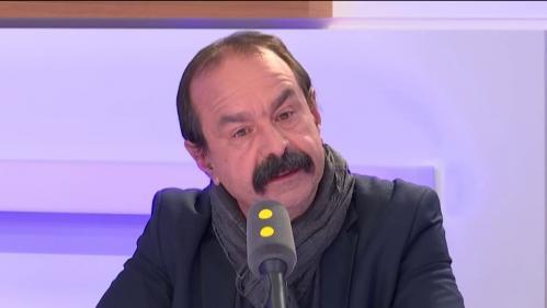 """Réforme des retraites: """"Il y a un gros loup"""", estime Philippe Martinez, le secrétaire général de la CGT"""