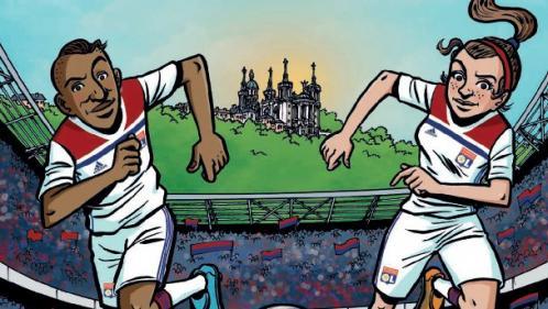 """""""Team d'attaque"""", la BD qui s'inspire des soeurs Cascarino, les nouvelles stars du foot féminin"""