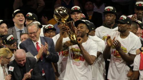 Basket : Toronto détrône Golden State et remporte son premier titre NBA