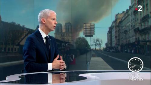 """VIDEO. Notre-Dame de Paris : """"La voûte peut toujours s'écrouler"""", met en garde Franck Riester"""