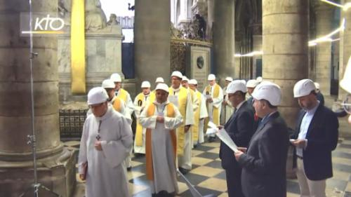 DIRECT. Notre-Dame de Paris : suivez la première messe célébrée dans la cathédrale après l'incendie