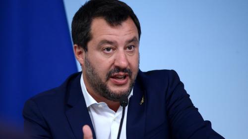 """Matteo Salvini, en visite à Washington, """"veut se donner une stature internationale"""""""