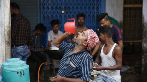 La chaleur extrême a déjà fait près de 50 morts dans le nord de l'Inde