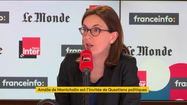 """Europe : """"L'influence qu'on veut avoir c'est d'abord que le projet avance"""", assure Amélie de Montchalin"""