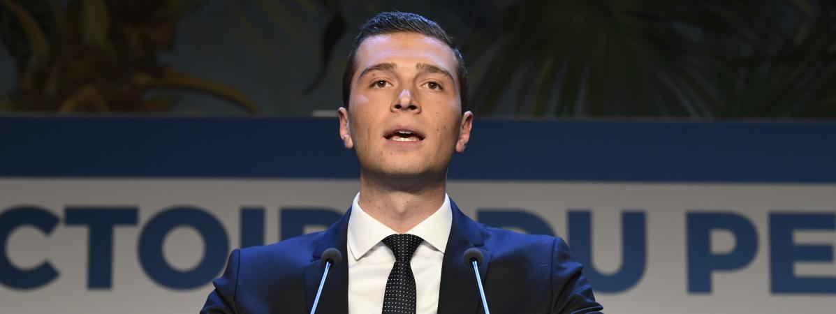 Jordan Bardella devient vice-président du Rassemblement national