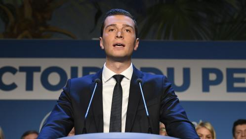 Jordan Bardella promu vice-président du Rassemblement national après la victoire de sa liste aux élections européennes