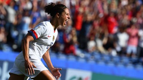 Coupe du Monde 2019 : les Etats-Unis l'emportent 3-0 face au Chili et assurent leur présence en huitièmes de finale