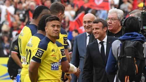 VIDEO. Emmanuel Macron et Bernard Laporte sifflés lors de la finale du Top 14 au Stade de France