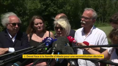 """VIDEO. """"On voulait avoir le fin mot et on l'a"""", déclare la mère d'Alexia Daval après la reconstitution du meurtre de sa fille"""