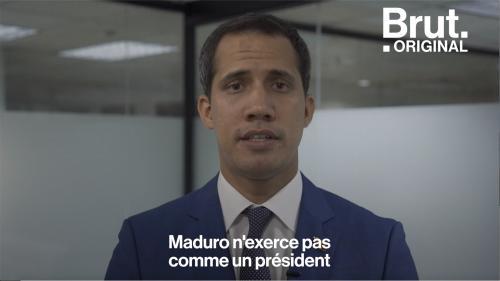 """VIDEO. """"Il y aura un changement au Venezuela"""" : Entretien avec le chef de l'opposition Juan Guaidó"""