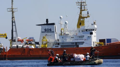 Lampedusa : bras de fer entre l'Italie et un navire humanitaire