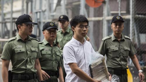 Hong Kong : le militant pro-démocratie Joshua Wong a été libéré et veut rejoindre le mouvement de protestation