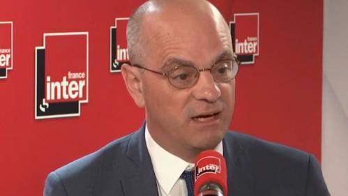 """Grève de la surveillance du bac : """"Les épreuves vont se passer normalement"""" assure Jean-Michel Blanquer, """"il y a autour de 5%"""" de grévistes"""