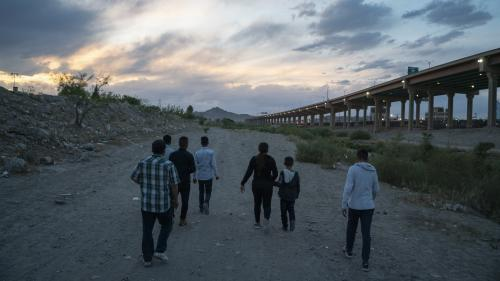 Mexique : 791 migrants arrêtés, dont de nombreux enfants
