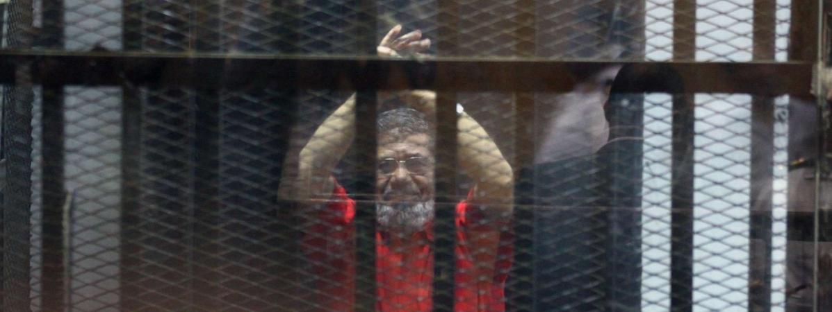 Mohamed Morsi n'a pas résisté à six ans de prison